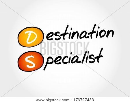 Ds - Destination Specialist