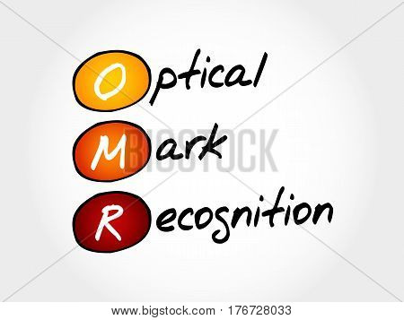 Omr Optical Mark Recognition