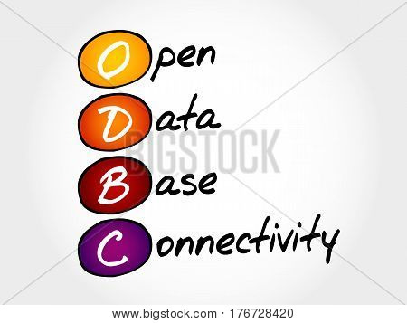 Odbc Open Database Connectivity