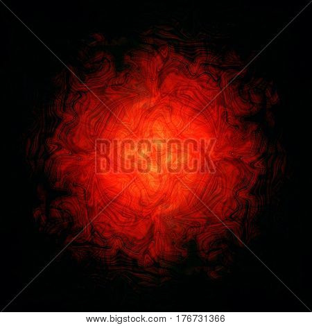 abstract background-irregular lines radiate from the center