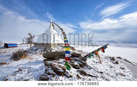 All Good Stupa Of Great Bliss. Awakening