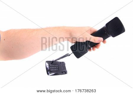 Telephone In The Hand