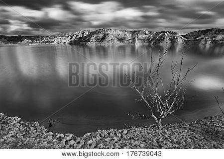 Protected natural landscape Barrancos de Gebas, Alhama de Murcia, Murcia province, Spain