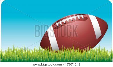 football outside