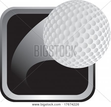 silver golf frame