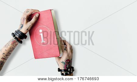 Notebook overlay word young people