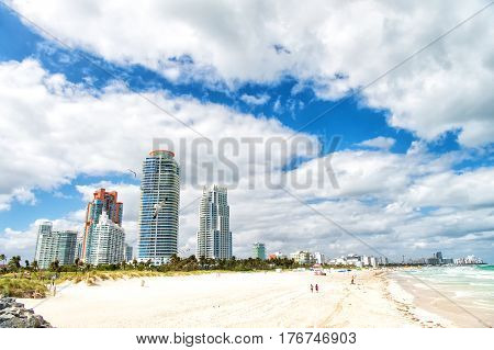 South Beach, Miami Beach. Florida