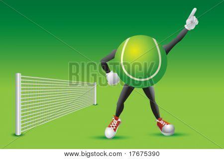 Number one tennis fan