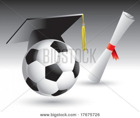 graduate soccer ball