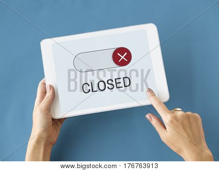 Blocked Unavailable Decline Accesibility Closed