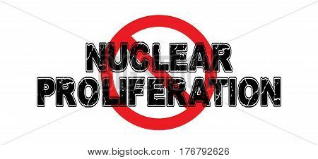 Ban Nuclear Proliferation the advancement of nuclear bombing capabilities of hostile nations.