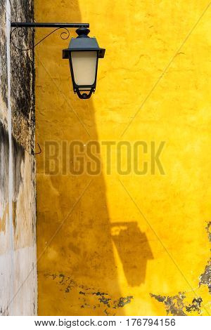 Street Light And Shadow