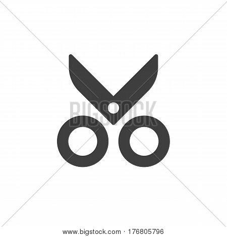 Flat icon pictogram concept, isolated object on white background