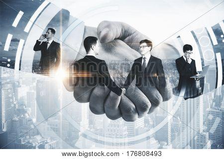 Business Technologies Concept