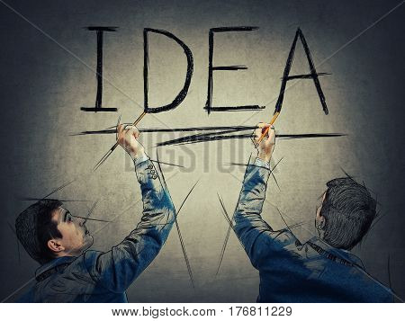 Idea Together Concept