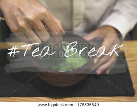Tea Time Break Brunch Traditional Lifestyle