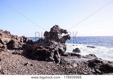 Basaltic Lava Formation