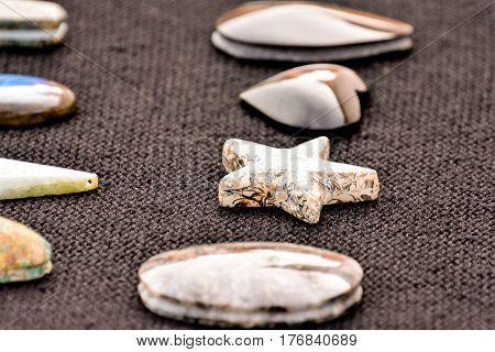 Semi Precious Rock Stone Jewel