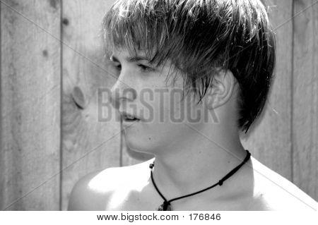 Cute Teenage Boy