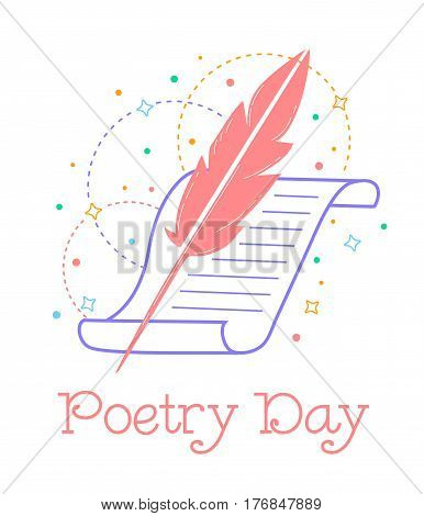 Greeting Card World Poetry Day