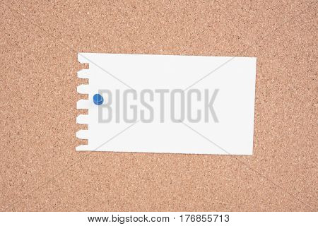 White Paper and To Do List pinned to a cork notice board.