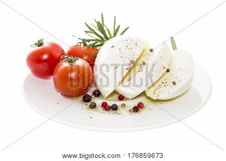 Mozzarella is a southern Italian cheese traditionally made from Italian buffalo milk by the pasta filata method.