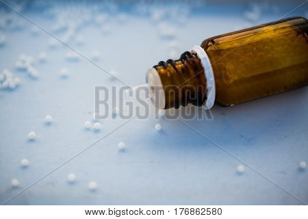 globules on white background, hay fever, allergy