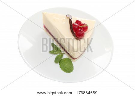 Cheesecake is a sweet dessert consisting of one or more layers. The main and thickest layer consists of a mixture of soft fresh cheese eggs and sugar. Is usually sweetened with sugar and may be flavored or topped with fruit cream nuts.