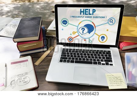 Help Solution Helpdesk Icons Graphic Diagram