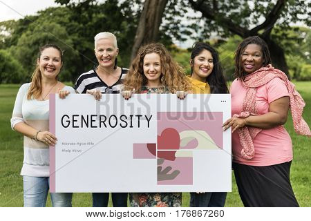 Donation Community Service Volunteer Support