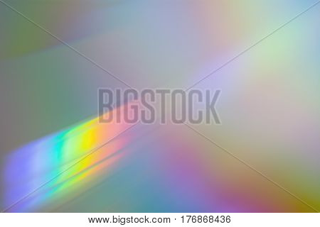 Images of CD macro.In CD brilliance can see the entire color spectrum. poster
