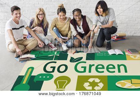 Environment Responsible Green Global Ecology