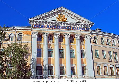 National University of Kyiv-Mohyla Academy (NaUKMA) a national coeducational research university located in Kyiv. Ukraine