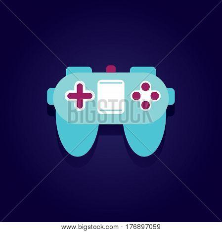 Game-pad Illustration Icon