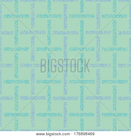 Seamless trellis patten. Light blue vector background. Abstract seamless pattern pastel crayons. Red and turquoise Paper Weave. Light blue geometric geo seamless background.