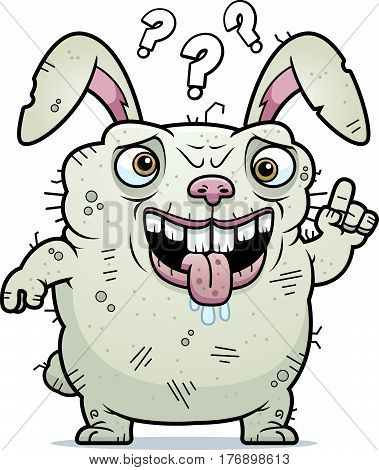 Confused Ugly Bunny