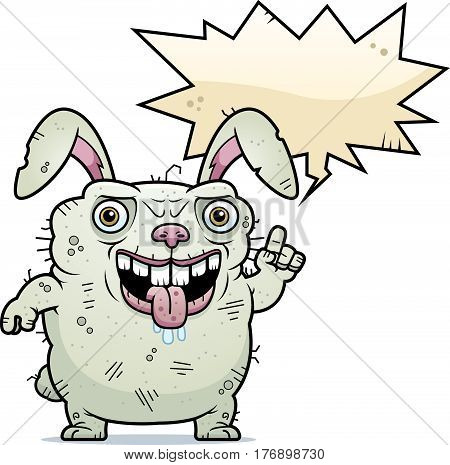 Ugly Bunny Talking