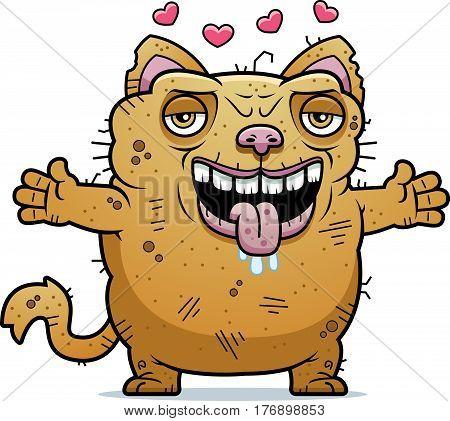 Ugly Cat Hug