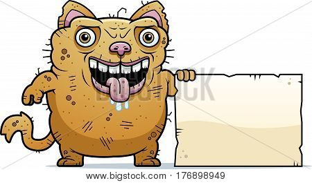 Ugly Cat Sign