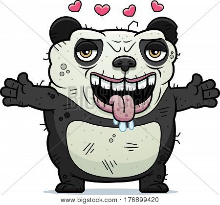Ugly Panda Hug