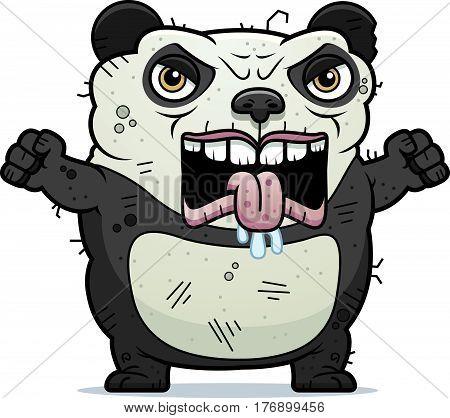 Angry Ugly Panda