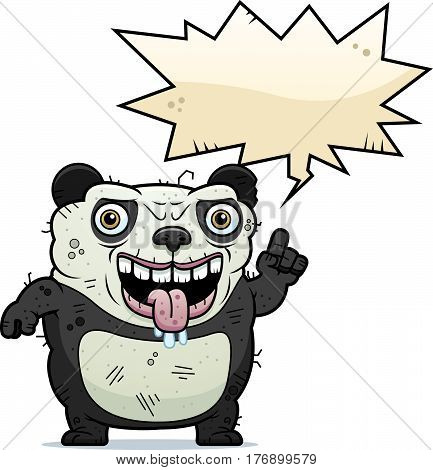 Ugly Panda Talking