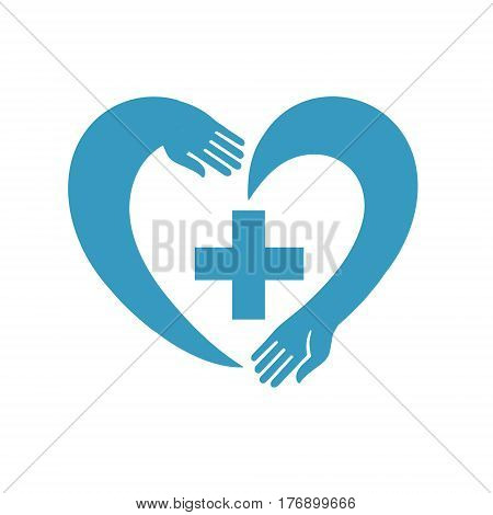 creative vector illustration can be used as the logo of the medical institution or pharmacy