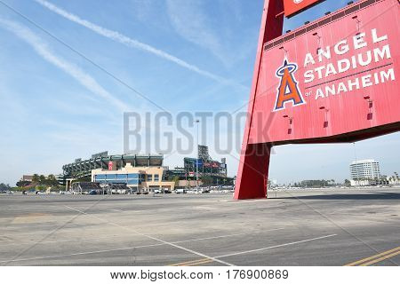 Big A And Angel Stadium