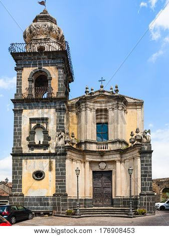 Saint Antonio Church In Castiglione Di Sicilia