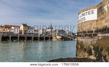 Dock of la Chaume (Les Sables d'Olonne, France)