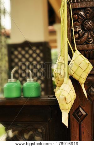 ketupat icon of the hari raya