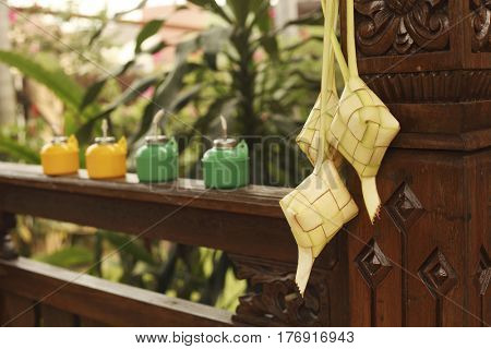 ketupat icon of the hari raya