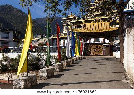 Azom International Buddhist Institute, Parping Katmandu, Nepal