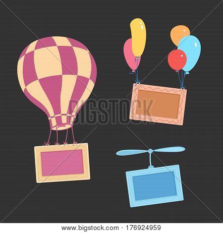 Vector Illustration Air frame eps 8 file format